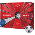 Callaway Chrome Soft Truvis Stars and Stripes Golf Ball