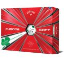 Callaway Chrome Soft Truvis Shamrock Golf Balls