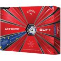 Callaway Chrome Soft Truvis European Golf Ball