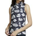 Nike Women's Sleeveless Toile Print Polo AV3680