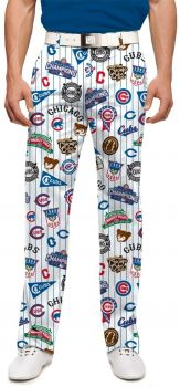 Loudmouth Cubs Retro Pant