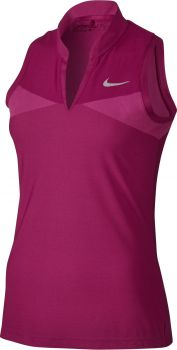 Nike Women's Zonal Cooling Swing Knit Racerback Polo 831480