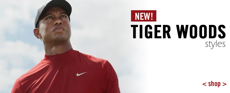 NEW! Tiger Woods Styles
