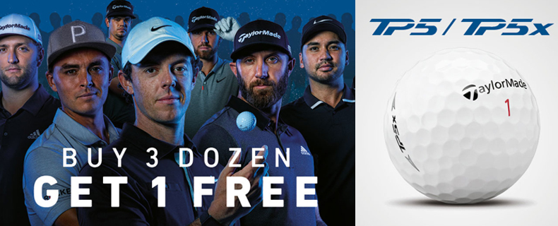 TaylorMade : Buy 3, Get 1 Free